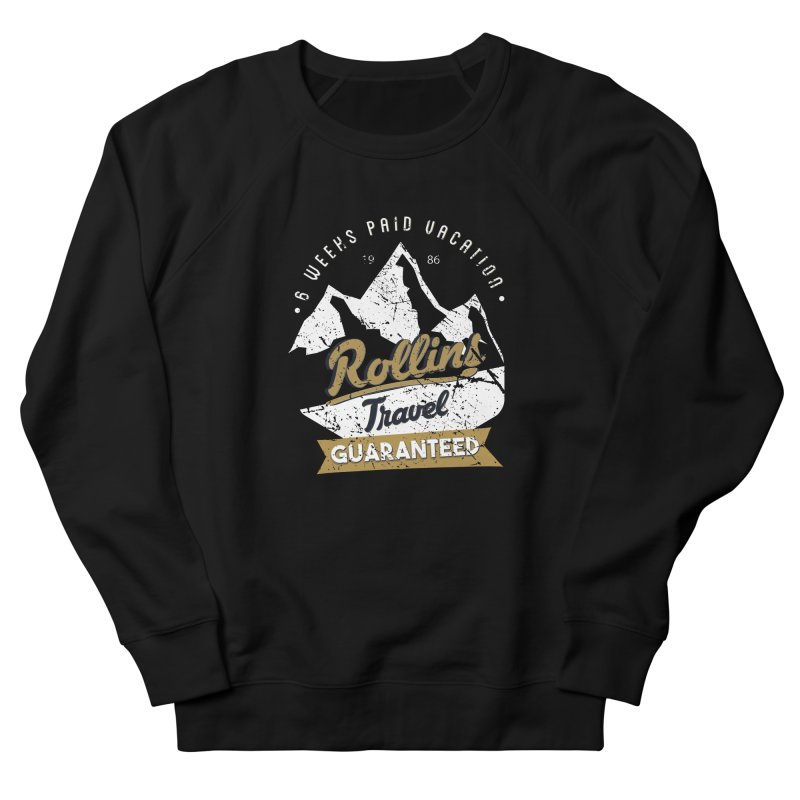 Rollins Travel Agency  Men's Sweatshirt by kirbymack's Artist Shop