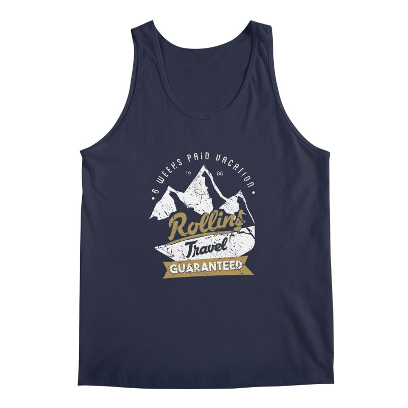 Rollins Travel Agency  Men's Tank by kirbymack's Artist Shop