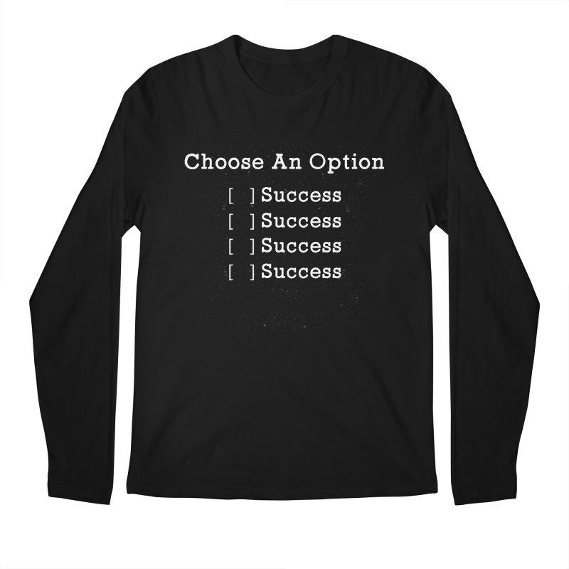 Lose Yourself. Men's Longsleeve T-Shirt by kirbymack's Artist Shop