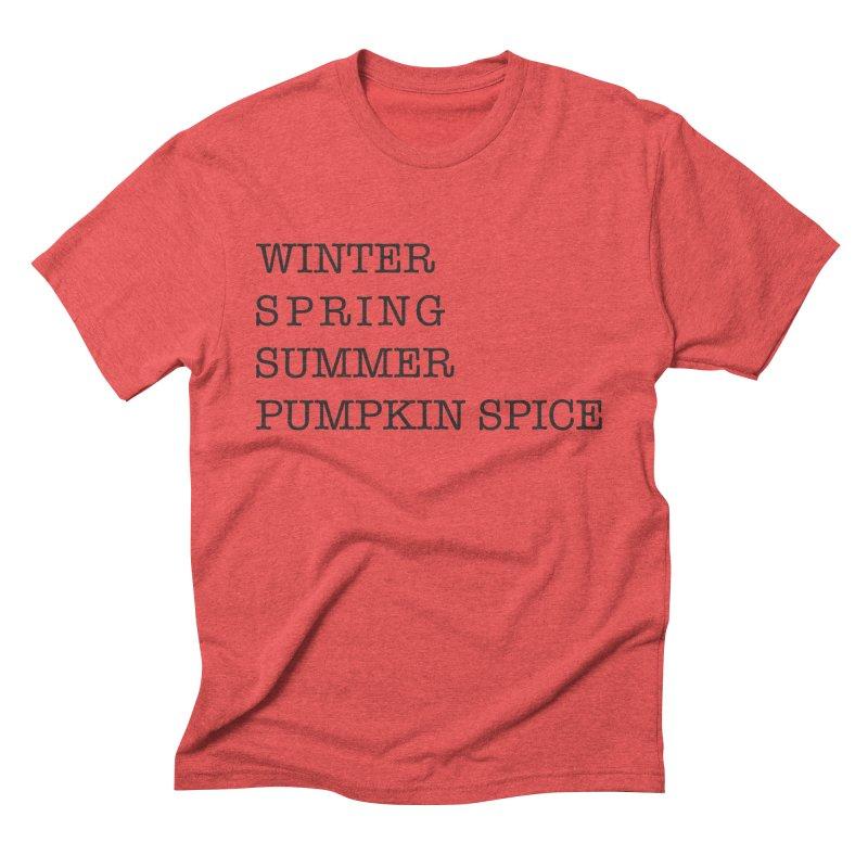 The Four Seasons Men's Triblend T-shirt by kirbymack's Artist Shop