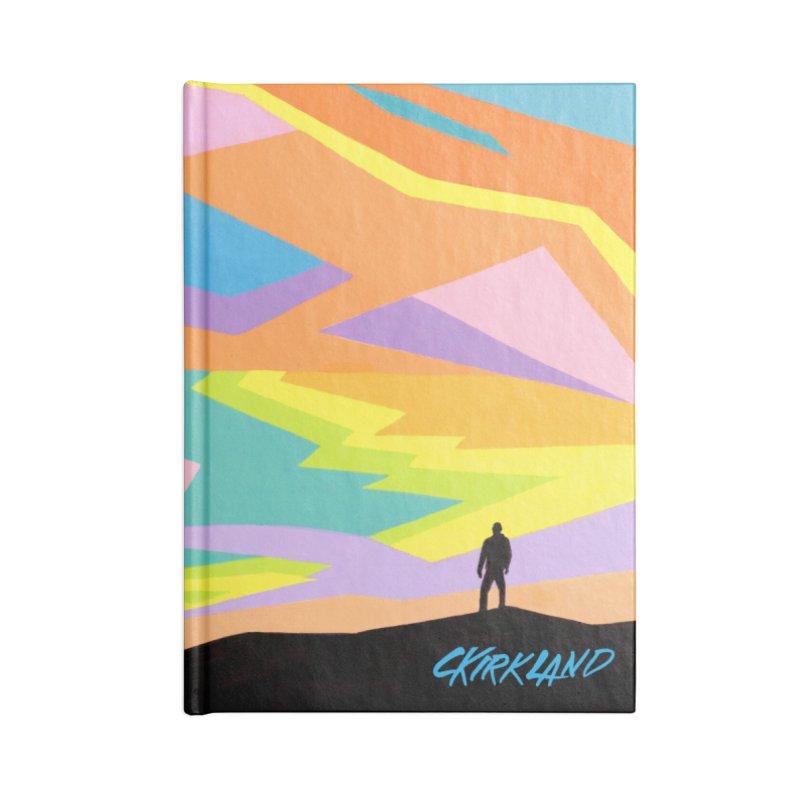 Refracted Sky Accessories Notebook by Kirkland Creative Art Shop