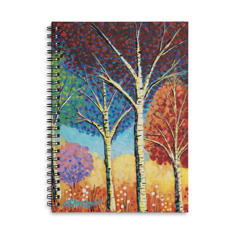 Julie's Groovy Trees Accessories Notebook by Kirkland Creative Art Shop