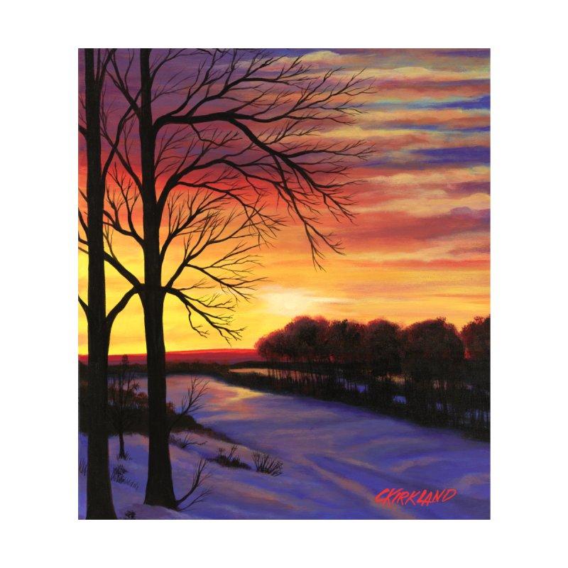 Winter Sunset Accessories Mug by Kirkland Creative Art Shop