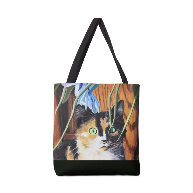 Invisible Cat Accessories Bag by Kirkland Creative Art Shop