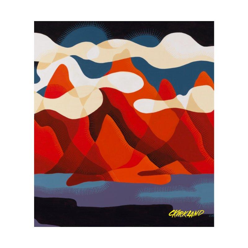 Clouds & Mountains Accessories Mug by Kirkland Creative Art Shop