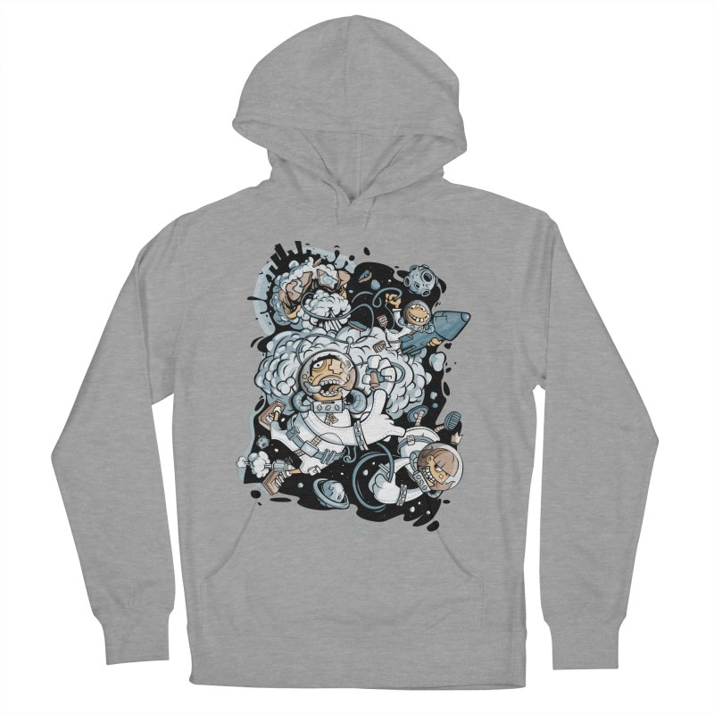 we had enough.. Men's French Terry Pullover Hoody by kirpluk's Artist Shop