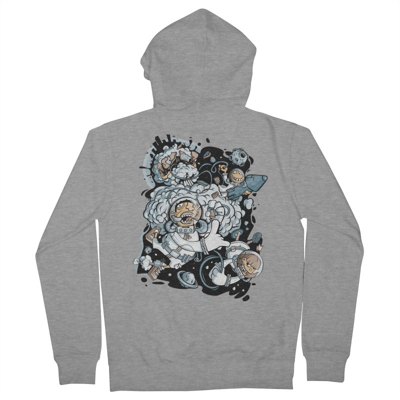 we had enough.. Men's Zip-Up Hoody by kirpluk's Artist Shop