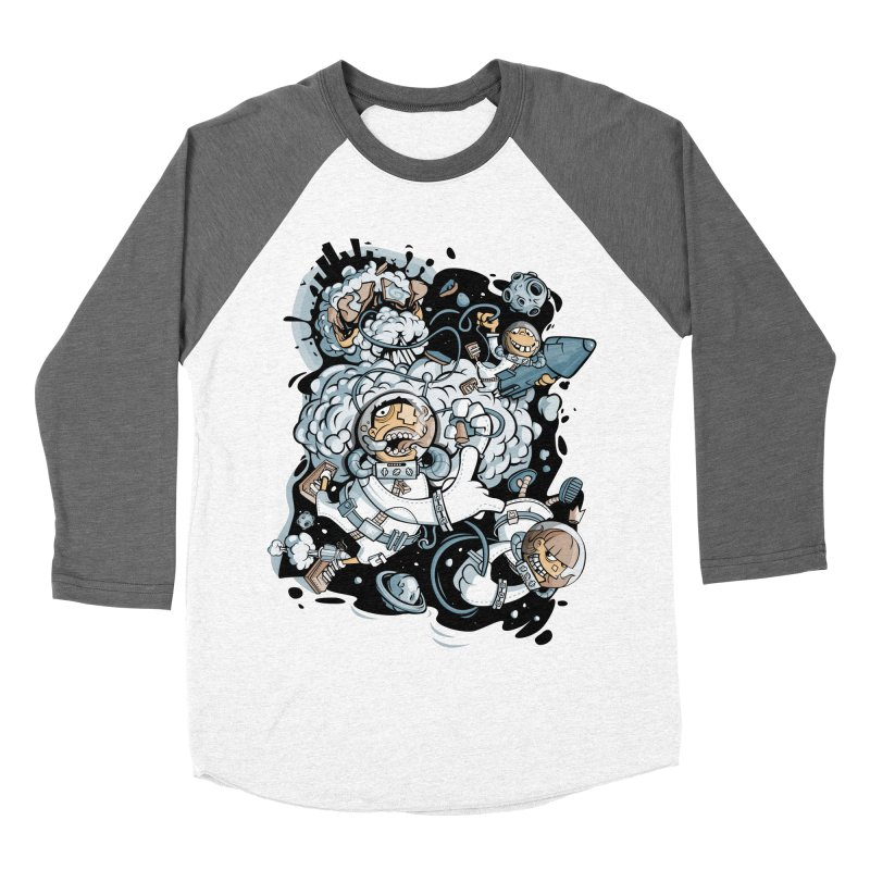 we had enough.. Women's Baseball Triblend Longsleeve T-Shirt by kirpluk's Artist Shop