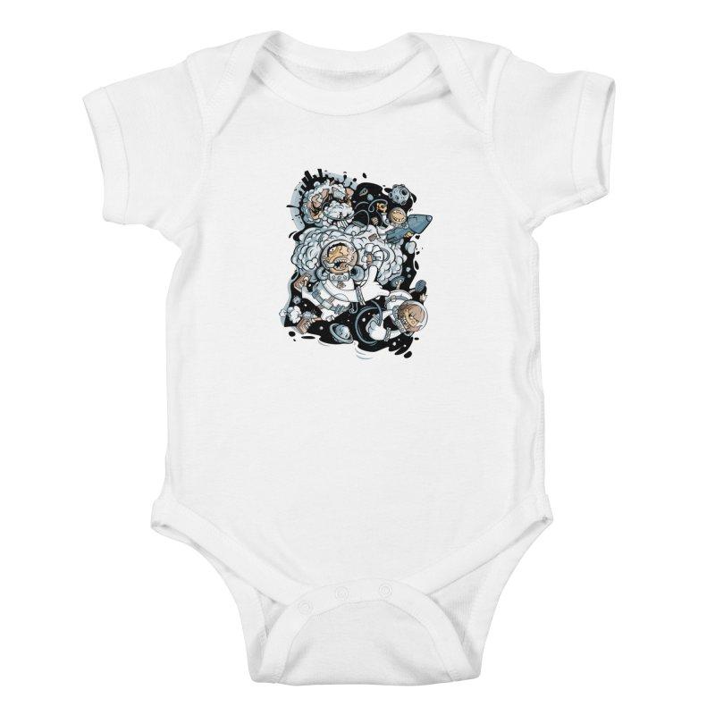 we had enough.. Kids Baby Bodysuit by kirpluk's Artist Shop