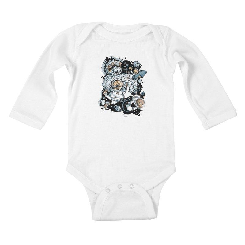 we had enough.. Kids Baby Longsleeve Bodysuit by kirpluk's Artist Shop