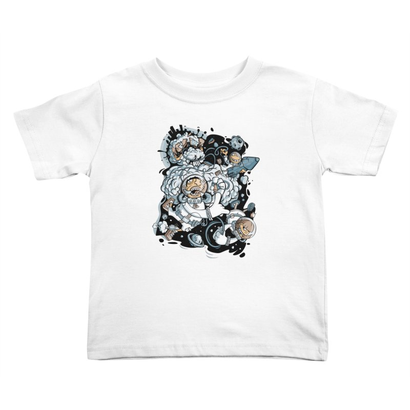 we had enough.. Kids Toddler T-Shirt by kirpluk's Artist Shop