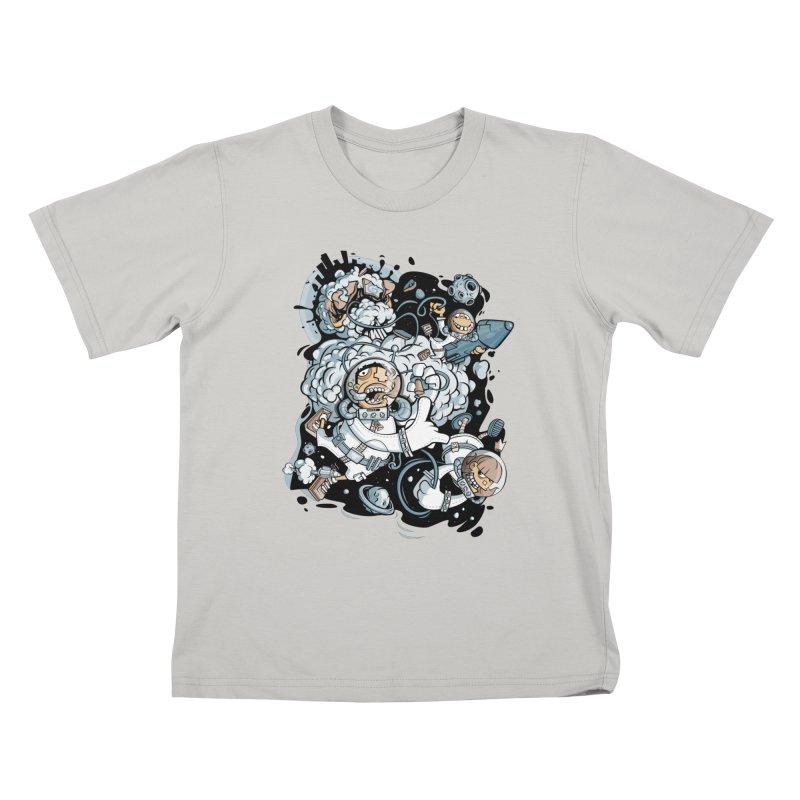 we had enough.. Kids T-shirt by kirpluk's Artist Shop