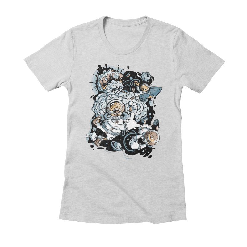 we had enough.. Women's Fitted T-Shirt by kirpluk's Artist Shop