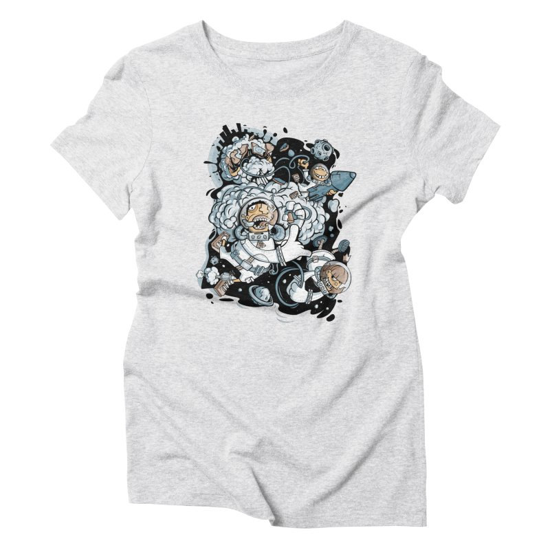 we had enough.. Women's Triblend T-Shirt by kirpluk's Artist Shop