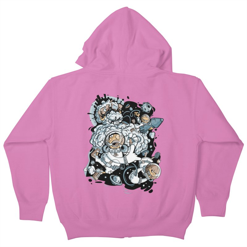 we had enough.. Kids Zip-Up Hoody by kirpluk's Artist Shop