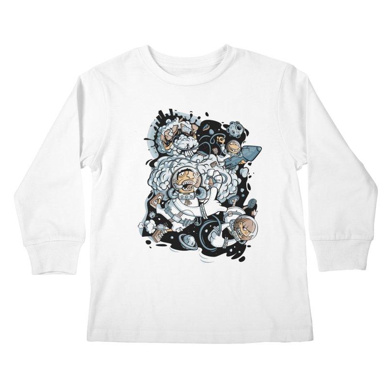 we had enough.. Kids Longsleeve T-Shirt by kirpluk's Artist Shop