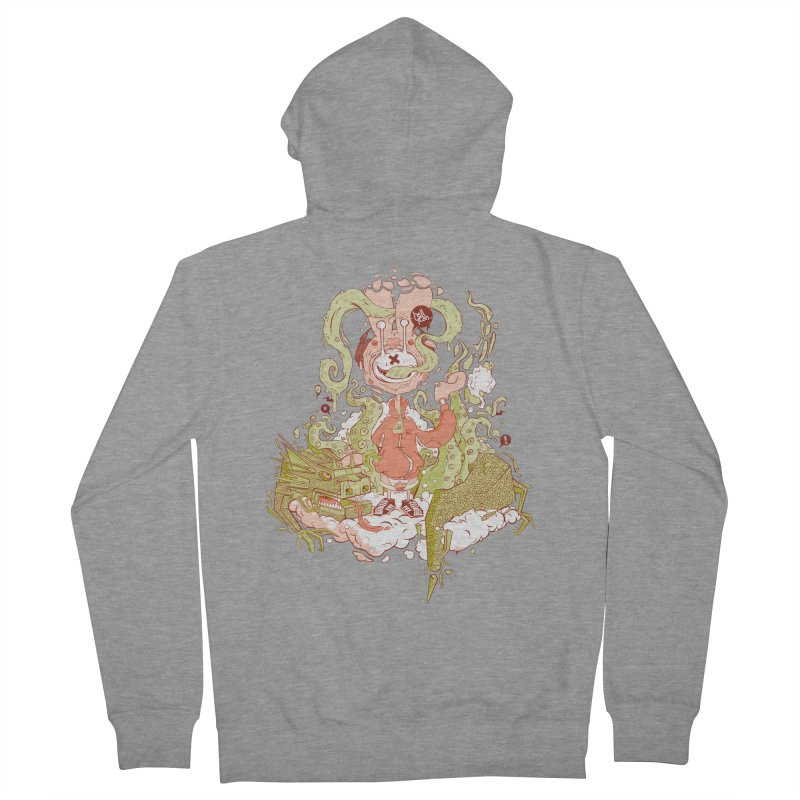HellYeah.. Men's Zip-Up Hoody by kirpluk's Artist Shop