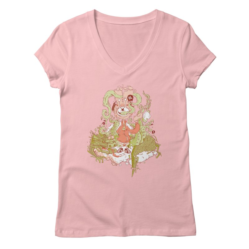 HellYeah.. Women's V-Neck by kirpluk's Artist Shop