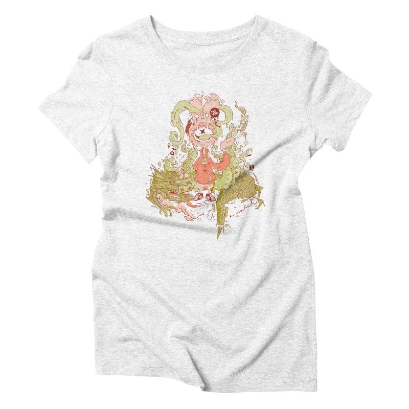 HellYeah.. Women's Triblend T-shirt by kirpluk's Artist Shop