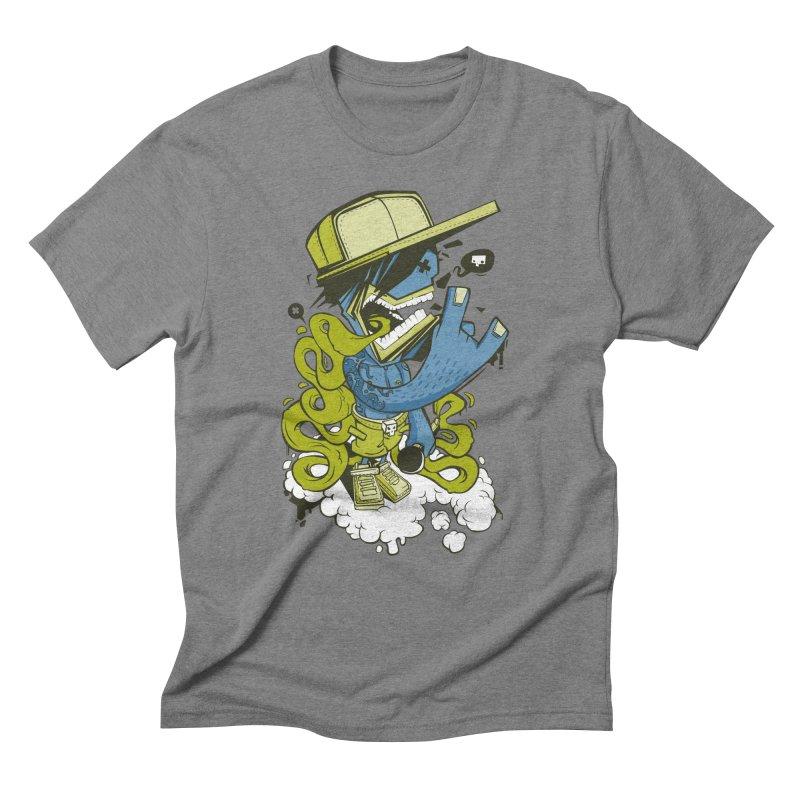 freestyler Men's Triblend T-shirt by kirpluk's Artist Shop