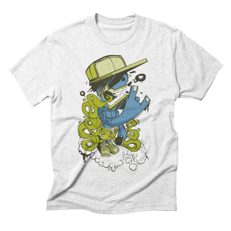 freestyler Men's Triblend T-shirt by kirpluk's Artist Shop