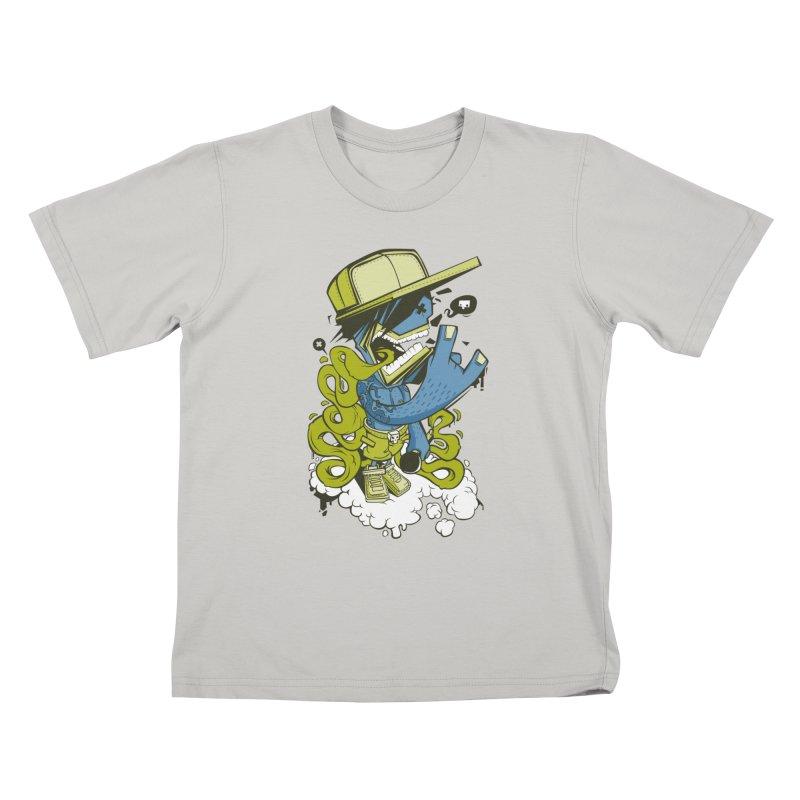 freestyler Kids T-shirt by kirpluk's Artist Shop