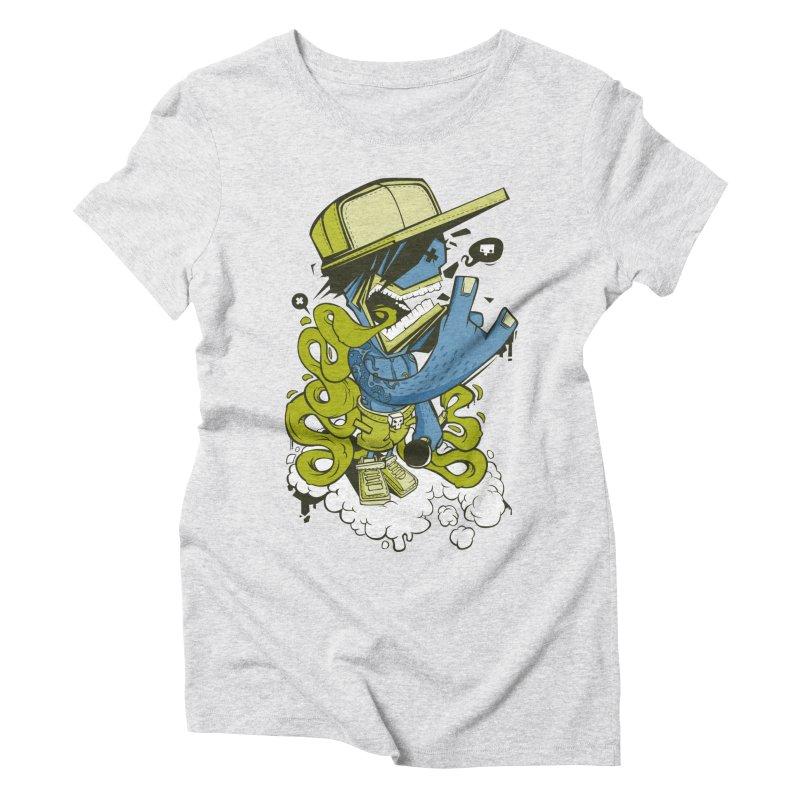 freestyler Women's Triblend T-shirt by kirpluk's Artist Shop