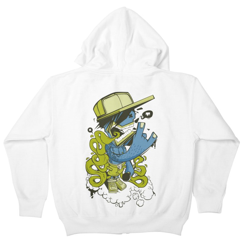 freestyler Kids Zip-Up Hoody by kirpluk's Artist Shop