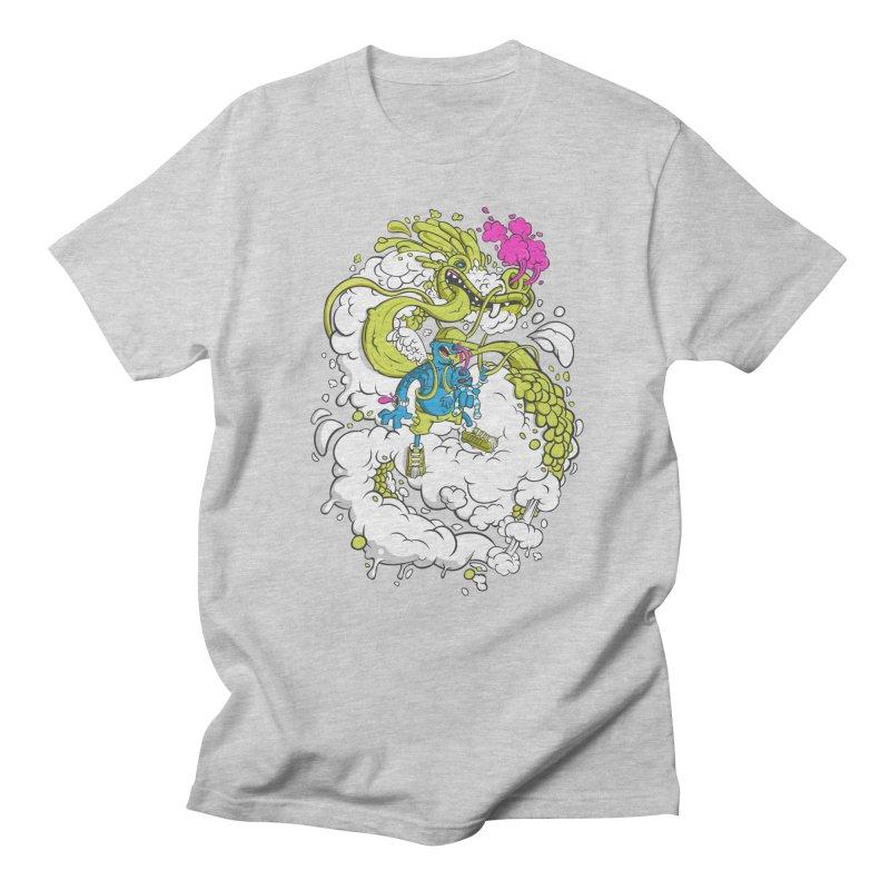 LearningToFly Men's T-shirt by kirpluk's Artist Shop