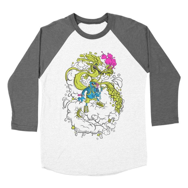 LearningToFly Men's Baseball Triblend Longsleeve T-Shirt by kirpluk's Artist Shop