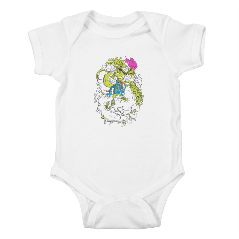 LearningToFly Kids Baby Bodysuit by kirpluk's Artist Shop