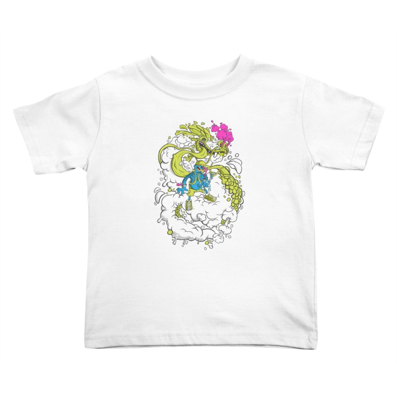 LearningToFly Kids Toddler T-Shirt by kirpluk's Artist Shop