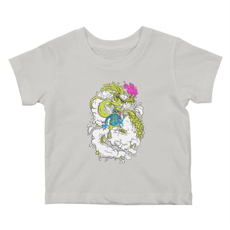 LearningToFly Kids Baby T-Shirt by kirpluk's Artist Shop