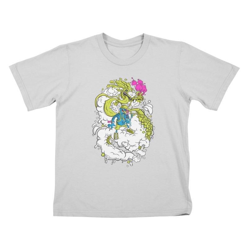 LearningToFly Kids T-Shirt by kirpluk's Artist Shop