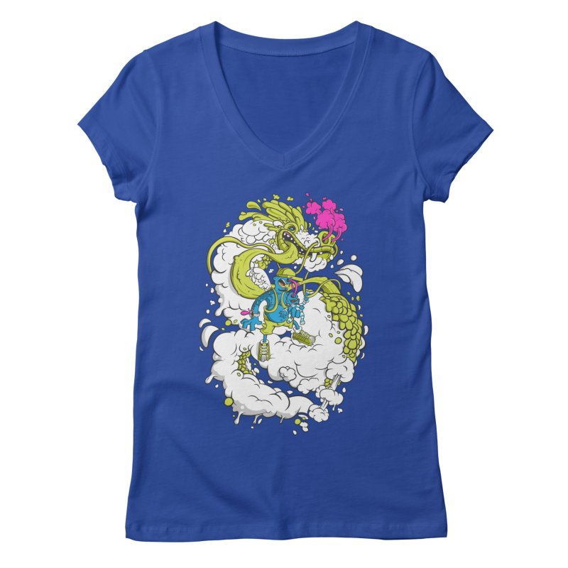 LearningToFly Women's V-Neck by kirpluk's Artist Shop