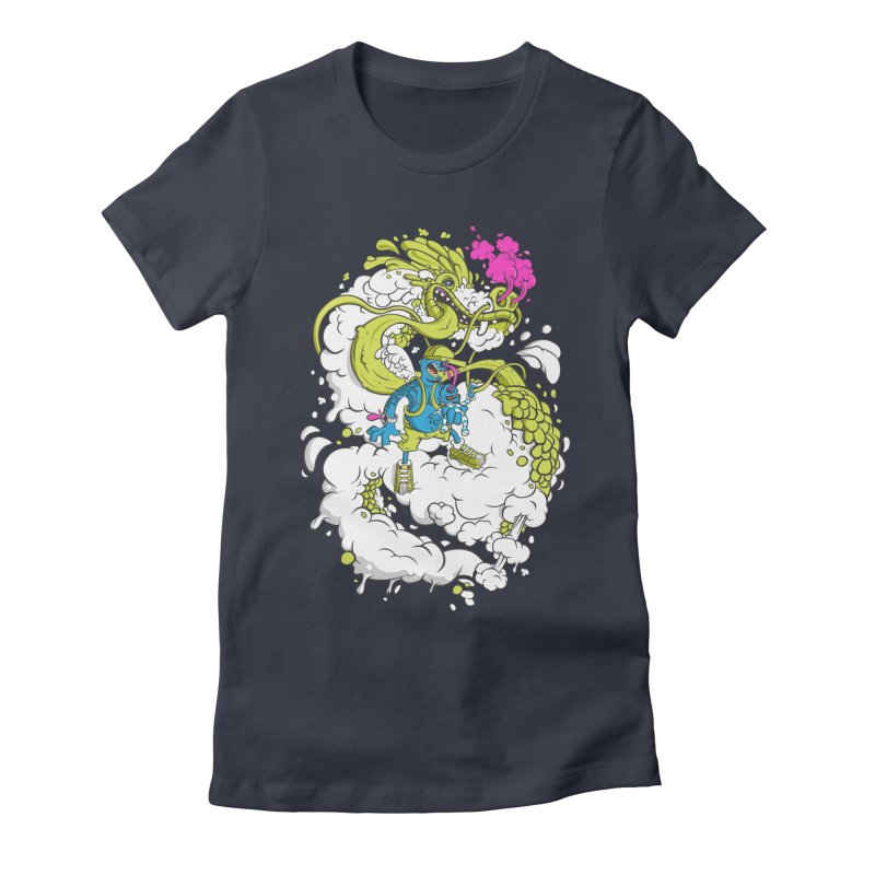 LearningToFly Women's Fitted T-Shirt by kirpluk's Artist Shop