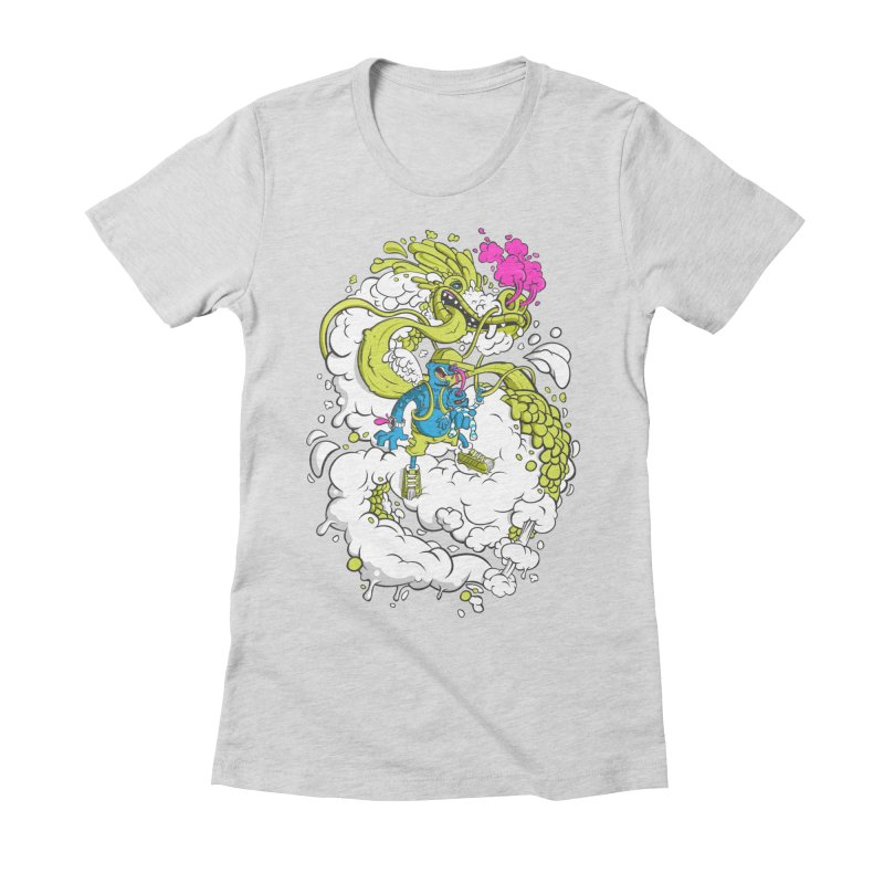 LearningToFly Women's Fitted T-Shirt by kirpluk's Artist Shop