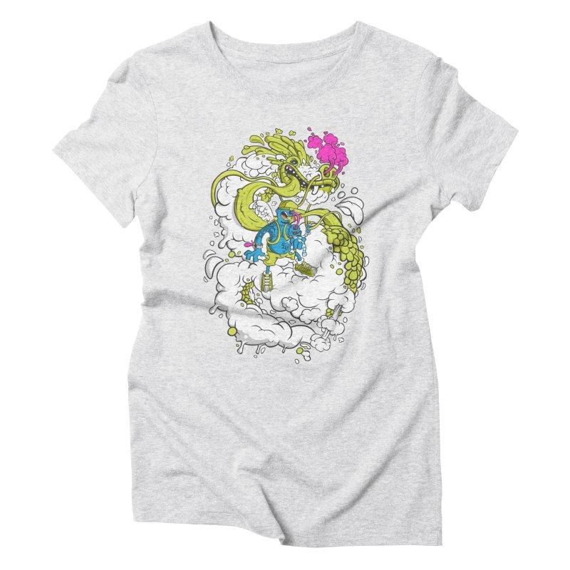LearningToFly Women's Triblend T-Shirt by kirpluk's Artist Shop