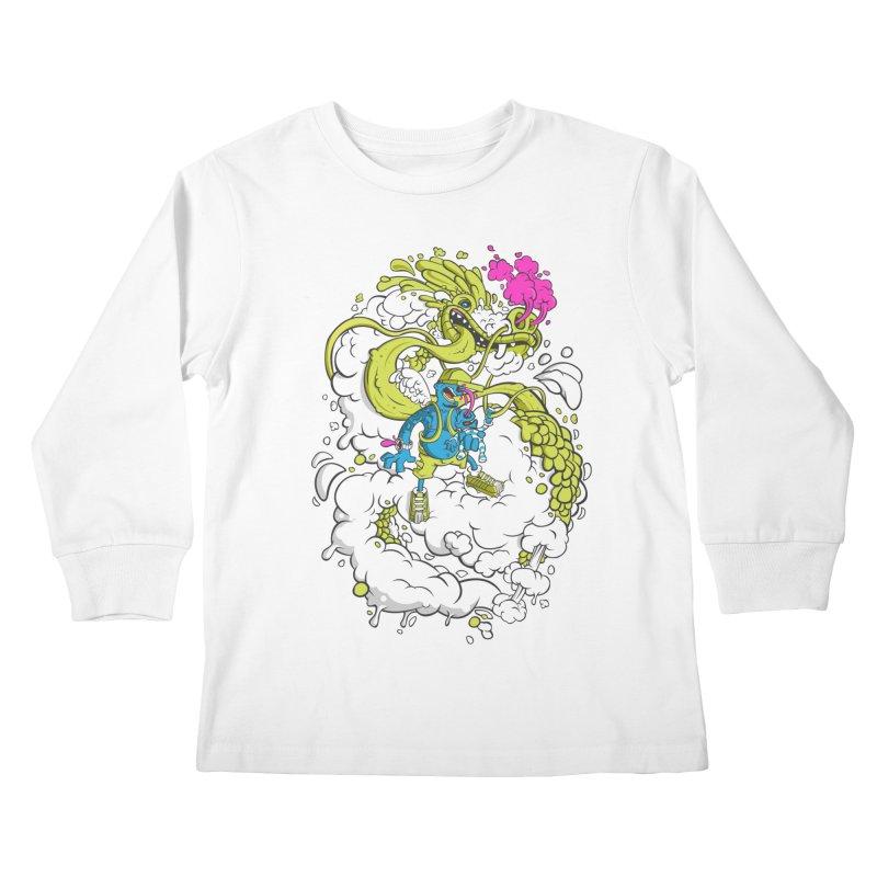 LearningToFly Kids Longsleeve T-Shirt by kirpluk's Artist Shop