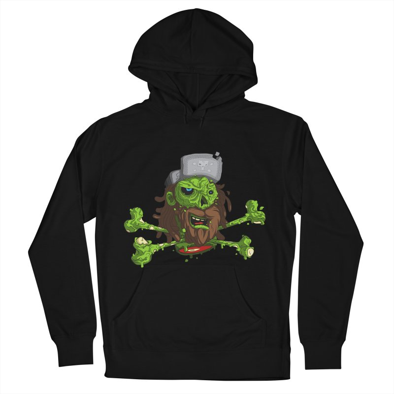 still alive Men's French Terry Pullover Hoody by kirpluk's Artist Shop