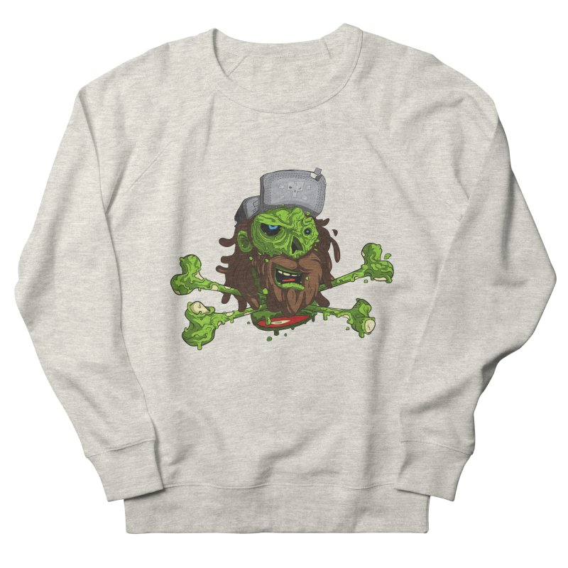 still alive Men's French Terry Sweatshirt by kirpluk's Artist Shop