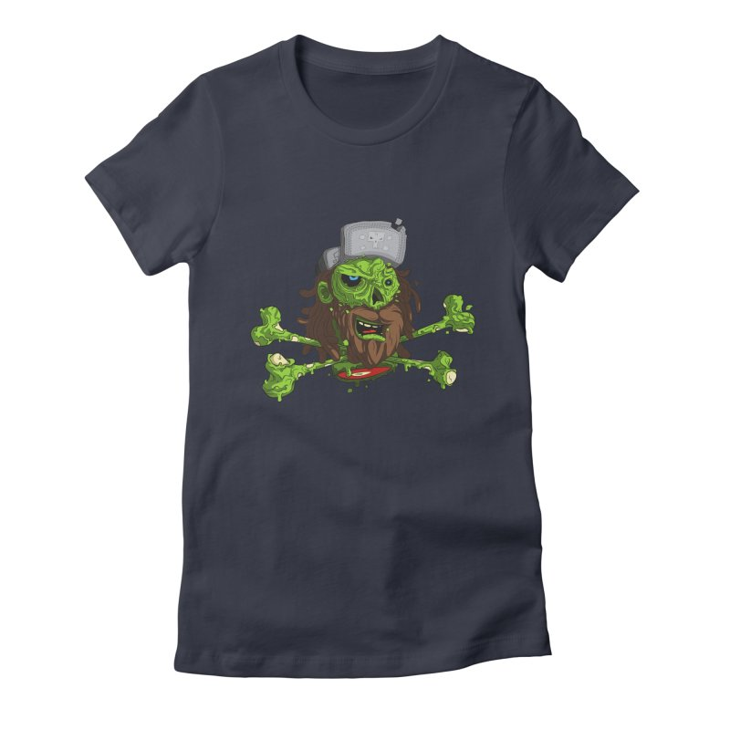 still alive Women's Fitted T-Shirt by kirpluk's Artist Shop