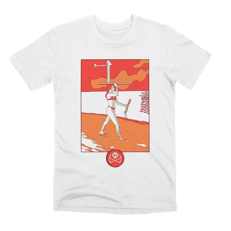 Foil Girl Men's T-Shirt by kitersoze