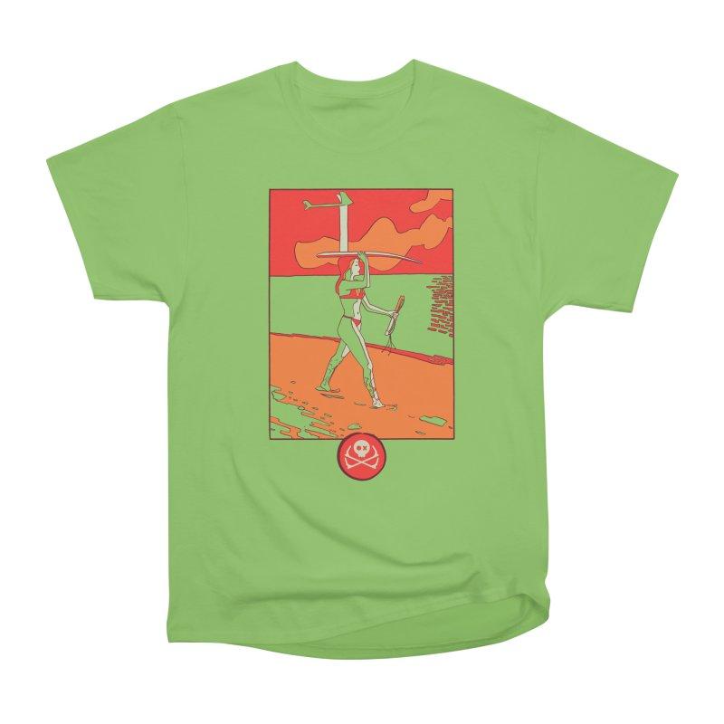Foil Girl Women's Heavyweight Unisex T-Shirt by kitersoze