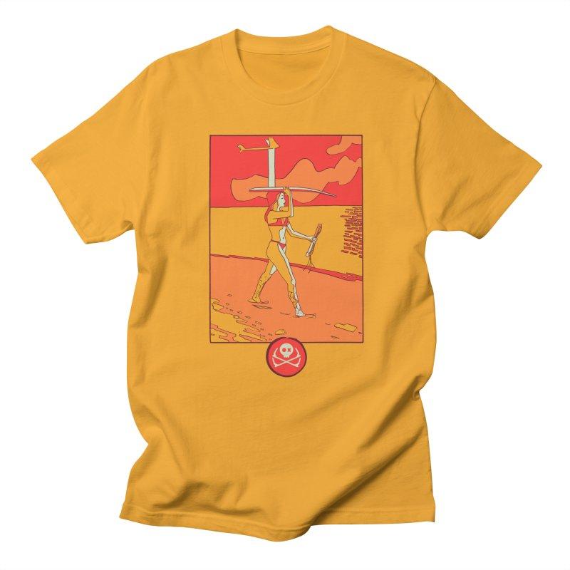 Foil Girl Women's Regular Unisex T-Shirt by kitersoze