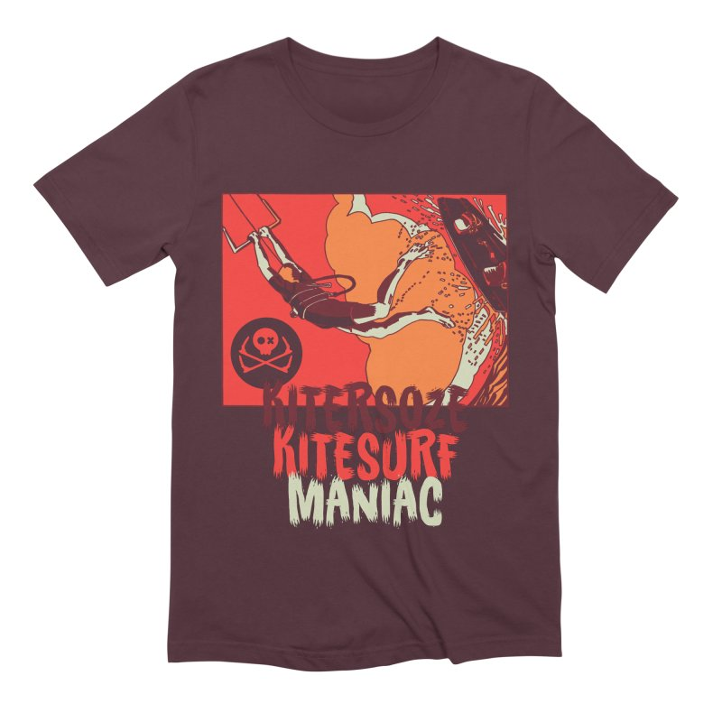 Kite Maniac Men's T-Shirt by kitersoze