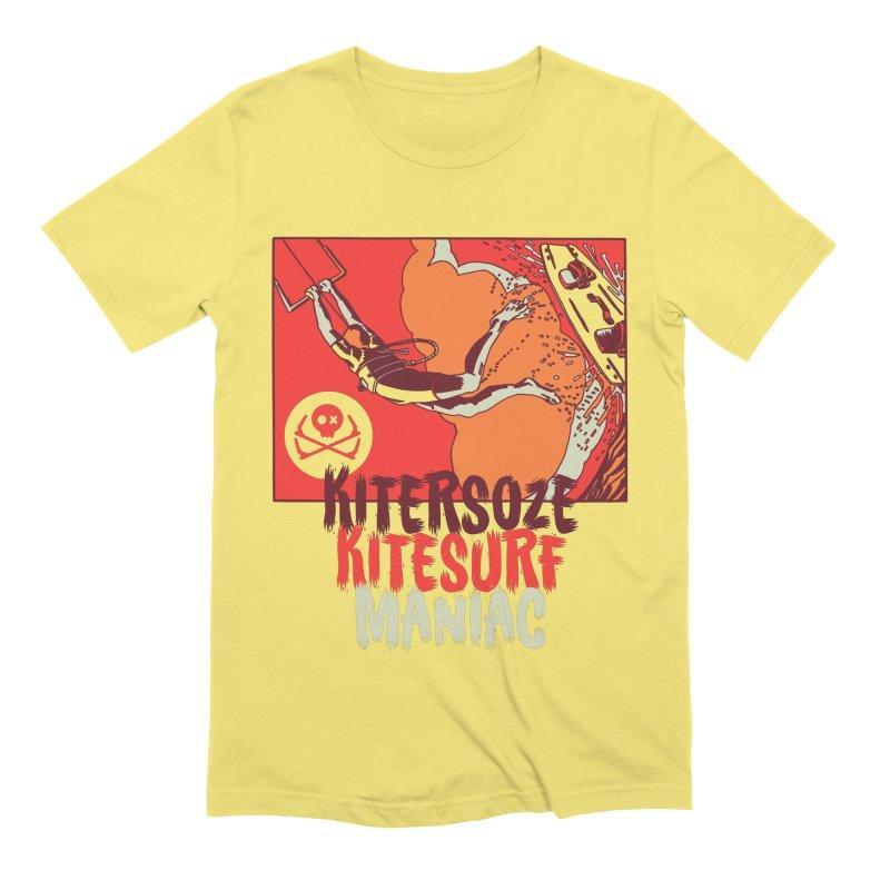 Kite Maniac Men's T-Shirt by kitersoze