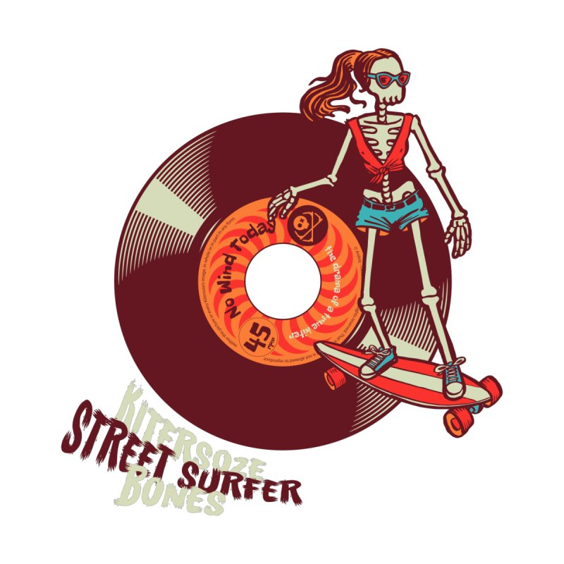 Street Surfer Men's V-Neck by kitersoze