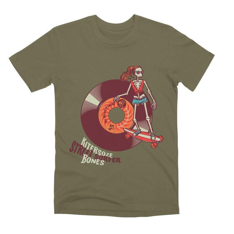Street Surfer Men's T-Shirt by kitersoze