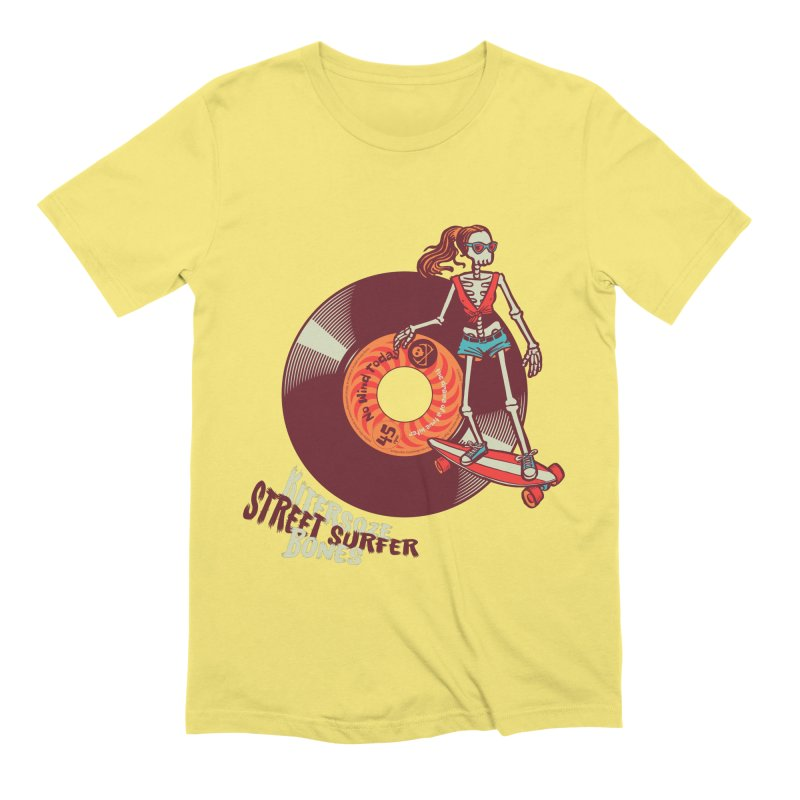 Street Surfer Men's T-Shirt by kitersoze